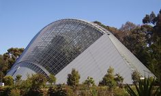 Bicentennial Tropical Conservatory in the Adelaide Botanic Gardens, Adelaide, Australia