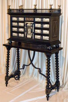 Contemporary Cabinets, Drafting Desk, Spain, Antiques, Furniture, Ideas, Home Decor, Renaissance, Interior Design