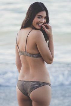 ACACIA Swimwear 2016 Waikoloa Bottoms in Opihi Mesh/Foam Lining from Society Bikini Hawaii