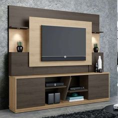 Top 50 Modern TV Stand Design Ideas For 2020 - Engineering Discoveries Tv Stand Modern Design, Tv Stand Designs, Tv Cabinet Design Modern, Tv Unit Decor, Tv Wall Decor, Wall Tv, Tv Unit Furniture Design, Modern Tv Wall Units, Living Room Tv Unit Designs