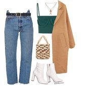 Best Outfit Styles For Women - Fashion Trends Older Women Fashion, Black Women Fashion, Curvy Fashion, Urban Fashion, Womens Fashion, Fashion Edgy, Fashion Fall, Fashion Top, High Fashion