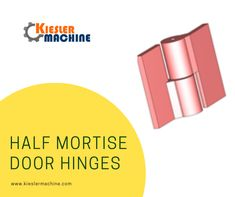 Kiesler Machine Inc. offers customized half surface hinges for door and gates. Get a quote on half surface hinges available with maximum door weight of 40,000 lbs and cost-effective prices.    #halfsurfacedoorhinge  #halfmortisedoorhinges #halfmortisehinge #halfsurfacehinge #hinges
