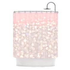 Kess InHouse Debbra Obertanec 'Magical' Glitter' Shower Curtain