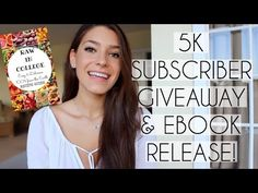 5K GIVEAWAY & MY FIRST EBOOK! | Raw in College - YouTube