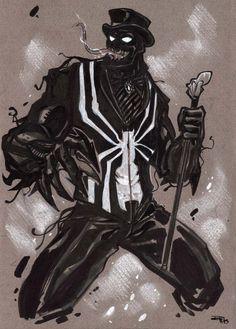 Steampunk Venom sketch by DenisM79 on DeviantArt