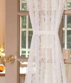 Attractive Signature Purity White French Linen Sheer Curtain | Home Swell Home |  Pinterest | Sheer Curtains, Linens And Victorian Cottage