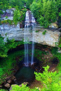 Fall Creek Falls Trail, Spencer, Tennessee  3 miles