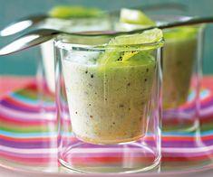 Nous vous proposons la recette d'un #dessert gourmand : la mousse de #kiwi, idéale pour les fins de repas.