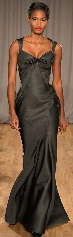 CESPINS ❤ Zac Posen FW 201415. New York Fashion Week