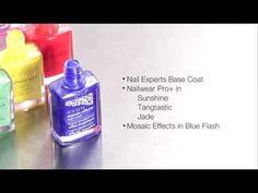 How to Use Avon Mosaic Effects Crackle Nail Polish - Shop Avon nail polish at http://eseagren.avonrepresentative.com/