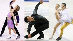 Which countries will win medals in the figure skating team event?