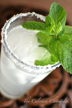 Mint Margaritas Mint Margarita, Perfect Margarita, Derby Party, Cocktail Making, Fresh Mint, Non Alcoholic, Happy Hour, Beverages, Drinks