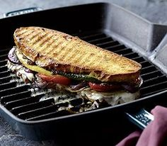 GRILLED VEGETABLE PANINI Panera Bread Recipe