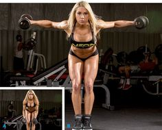 Sooooo happy to find this -- def need help on the shoulder muscles - 5 Super Shoulder-Training Techniques Training Legs, Weight Training, Weight Lifting, Weight Loss, Modelos Fitness, Fit Girl Motivation, Shoulder Workout, Muscular, Butt Workout