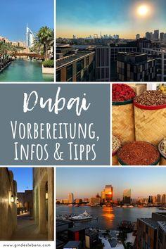 Unsere Dubai Reisetipps. Wir stellen euch das Reiseziel Dubai näher vor und beantworten Fragen wie: wie warm wird es in Dubai, wann ist die beste Reisezeit für Dubai, wie teuer ist Dubai und haben Informationen, die für eine Dubai Reise nützlich sind. Dubai Urlaub Vorbereitung, Infos & Tipps für eine Dubai Reise - unsere Dubai Reisetipps auf www.gindeslebens.com #Dubai #DubaiUrlaub #DubaiReise #DubaiTipps #DubaiReisetipps In Dubai, Dubai Travel, Koh Tao, Backpacking, Places To See, Highlights, To Go, Asia, Outdoor Decor