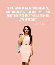 If you want to wear something, all that matters is that you love it, not what other people think. Learn to love yourself. - Jesy Nelson (Little Mix) Celebrity Bodies, Celebrity Skin, Celebrity Makeup, Celebrity News, Little Mix Facts, Little Mix Jesy, Ginger Actresses, Young Actresses, Post Malone New Album