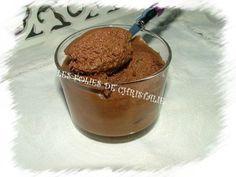 Mousse au chocolat thermomix
