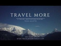 Travel Inspiration 2017 - Travel More - YouTube