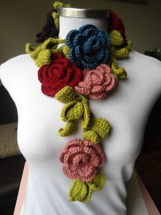 Miss Flower Croche