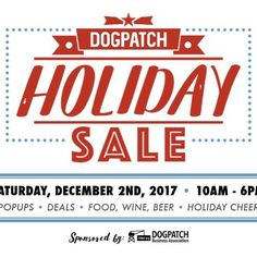 Dogpatch Holiday Sale is this Saturday December 2nd! Free admission at the Museum of Craft and Design and 15% off your holiday shopping. We'll also have two special pop-up vendors: Nancy Caten Jewelry and Centinelle Scarves. Stroll through Dogpatch visit the participating retailers galleries shops and 45 pop-ups. For more info visit dogpatchholidaysale.com