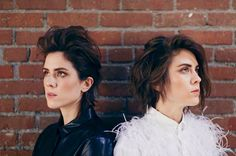 Tegan and Sara. Love You to Death. Tegan And Sara, Much Music, Bad Person, Haircut And Color, Cool Style, Sisters, Hair Cuts, Death, Love You