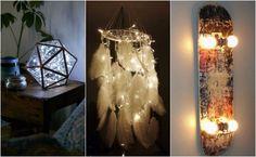 como decorar tu cuarto luces