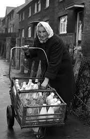 Sally The Botcherby milk lady 1966 The Old Days, Cumbria, Carlisle, Britain, Old Things, England, Amazing Photos, History, Ancestry