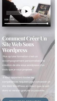 Wordpress, Creer Un Site Web, Blogging, Articles, Entrepreneurship, Tips