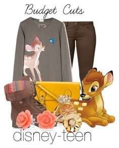 """Bambi"" by disney-teen ❤ liked on Polyvore featuring ONLY, MANGO, Steve Madden, Charlotte Russe, Forever 21, Bling Jewelry, women's clothing, women, female and woman"