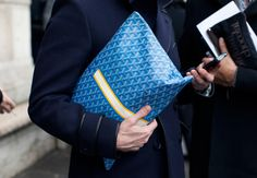 I will get one of these Goyard portfolios but in black
