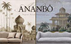 Os Luxuosos Papéis de Parede da Francesa Ananbô | Larissa Carbone Arquitetura
