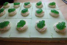 Grüner Frosch-Kuchen