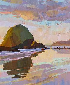 Urban Landscape, Landscape Art, Landscape Paintings, Landscapes, Oregon Nature, Environment Sketch, Rise Art, Nature Artwork, Nature Illustration