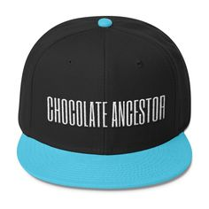 Chocolate Ancestor (3D Puff) Wool Blend Snapback