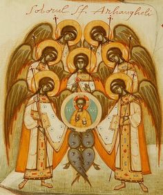 Synaxis of the Angels and Archangels by Gabriel Toma Chituc