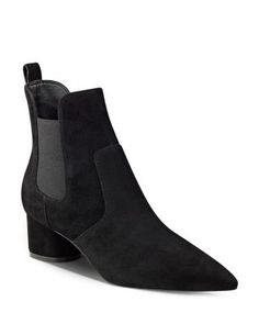 Kendall and Kylie Logan Suede Chelsea Booties | Bloomingdale's