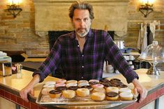 """Actor Gary Cole at the rehearsing set for """"Superior Donuts"""" at the Geffen Playhouse"""