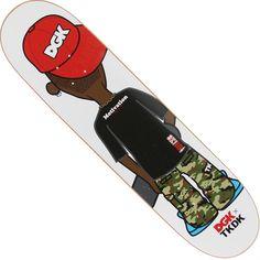 DGK x Tokidoki Lil Stevie 8.06 Skateboard Deck (white) DD626WHT - $54.99