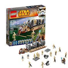 Lego Star Wars - 75086 Battle Droid Troop Carrier Buy online your favourite star war Battle Droid Troop Carrier on toytooth Star Wars Jedi, Lego Star Wars, Star Wars Battle Droids, Star Wars Toys, Lego City, Lego Droid, Jouet Star Wars, Lego Ship, Lego Pictures