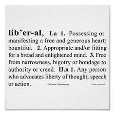 I am a bleeding heart liberal.