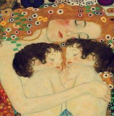 Mother and Twins : Gustav Klimt : Fine Art Print : Home Decor Nursery Decor . - Mother and Twins : Gustav Klimt : Fine Art Print : Home Decor Nursery Decor … Mother and Twins : Gustav Klimt : Fine Art Print : Home Decor Nursery Decor Gustav Klimt, Art Klimt, Art Nouveau, Blog Art, Oeuvre D'art, Art History, Amazing Art, Fine Art Prints, Wall Art Prints