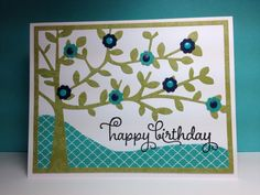 Shade tree cutting plate, Taylored Expressions, by beesmom - Cards and Paper Crafts at Splitcoaststampers