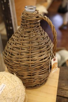 Demijohns are the perfect rustic touch!