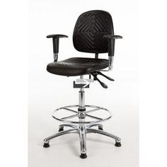 Werkstoel Economy GMS267 - Hoge rug
