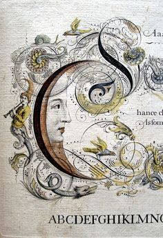 — The Penman's Magazine Fabulous typographic illumination for The Penman's Magazine by George Shelley (ca. and John Seddon (died - Art and Literature Illuminated Letters, Illuminated Manuscript, George Shelley, Calligraphy Letters, Islamic Calligraphy, Medieval Art, Moon Art, Letter Art, Stars And Moon