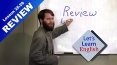 Let's Learn English Lessons 25-29 Review - Bloopers