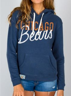 Junk Food Clothing - NFL Chicago Bears Pullover Hoodie - NFL - Collections - Womens