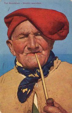 Vecchio Pescatore, 1920 (Old fisherman in Naples, Italy
