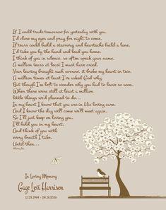 Sympathy Poem-Remembrance Gift-Memorial Print-Loss of Loved One-In Loving Memory-In Memory Of-Bereavement Gift-One Memory Away Poem Remembrance Poems, Memorial Poems, Memorial Gifts, Memorial Jewelry, Loss Of Son, Loss Of Loved One, Loss Of A Friend, Sympathy Poems, Sympathy Gifts