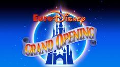 Euro Disney Grand Opening